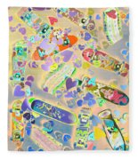 Creative Skate Fleece Blanket