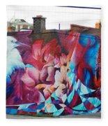 Creative Splash Of Artwork Fleece Blanket