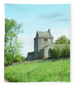 Crighton Church And Track Fleece Blanket