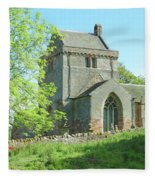 Crighton Historic Church Fleece Blanket