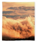 Cripple Creek Fog Fleece Blanket