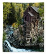 Crystal Mill Fleece Blanket