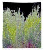 Crystalized Cacti Spears 2c Fleece Blanket