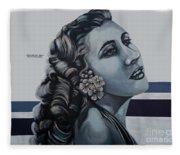 Cuenca Murals - Osmara De Leon Fleece Blanket