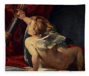 Cupid, 1620 Fleece Blanket
