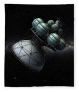 Daedalus Interstellar Fleece Blanket