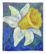 Daffodil Festival I Fleece Blanket