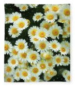 Daisy Crazy For You Fleece Blanket