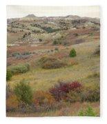 Dakota West Prairie Treasure Fleece Blanket