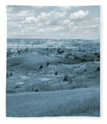 Dance Of The Clouds And Sun Fleece Blanket
