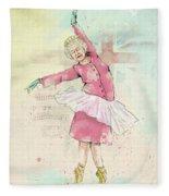 Dancing Queen Fleece Blanket