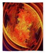 Dantes Inferno Fleece Blanket by Skip Hunt