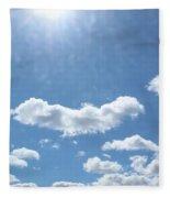 Daylight Savings Fleece Blanket