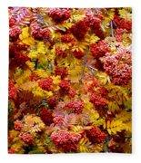 Days Of Autumn 18 Fleece Blanket