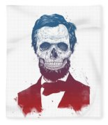 Dead Lincoln Fleece Blanket
