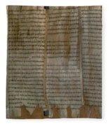 Dead Sea Scroll Fleece Blanket