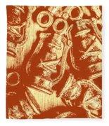 Decoratively Historic Fleece Blanket