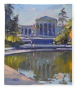 Delaware Park Buffalo Fleece Blanket