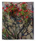 della Rocca Rose Fleece Blanket