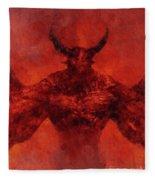 Demon Lord Fleece Blanket
