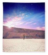 Desert Stars Fleece Blanket