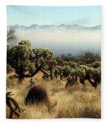 Desert Winter 1 Fleece Blanket
