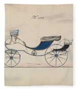 Design For Eight Spring Victoria, No. 1103 Brewster And Co. American, New York Fleece Blanket