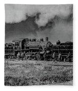 Detroit Terminal Railroad Fleece Blanket