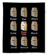 Deus Vult Fleece Blanket