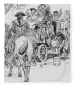 Dick Turpin, Rookwood Fleece Blanket