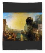 Dido Who Builds Carthage - Digital Remastered Edition Fleece Blanket