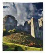 Dinefwr Castle 2 Fleece Blanket