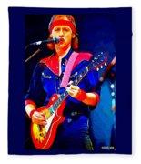 Dire Straits Mark Knopfler Fleece Blanket