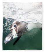 Dive Penguin Dive Fleece Blanket
