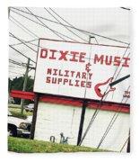 Dixie Music Fleece Blanket
