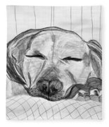 Django Napping Fleece Blanket