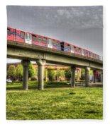 Docklands Light Railway Train  Fleece Blanket