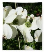 Dogwood V 2019 Fleece Blanket