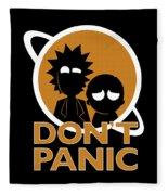 Don't Panic Fleece Blanket