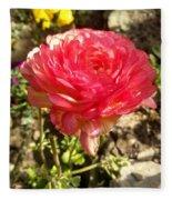 Double Coloured Rose Fleece Blanket