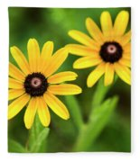 Double Daisies Fleece Blanket