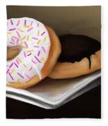 Doughnut Life Fleece Blanket
