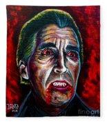 Dracula Lee  Fleece Blanket