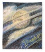 Dream Moon Fleece Blanket