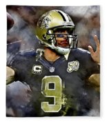 Drew Brees Fleece Blanket