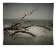 Drifting Along With The Tide Fleece Blanket