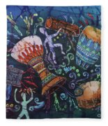 Drumbeat Fleece Blanket