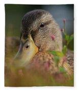 Duck 1 Fleece Blanket