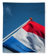 Dutch Flag Fleece Blanket