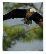 Eagle Flight 1 Fleece Blanket